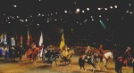 Knights Parade at Medieval Times