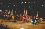 Knights Exits at Medieval Times