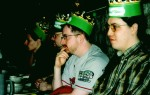 """(Left to Right) Socvazius, TheGoodEvil from Heaven Games and Ian """"Mad Doc"""" Davis, John Cataldo from Mad Doc"""
